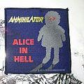 "ANNIHILATOR ""Alice In Hell"" patch *GONE*"