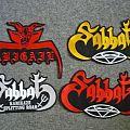 Sabbat / Abigail Back Patches