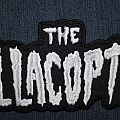 The Hellacopters shaped backpatch