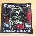 Flotsam And Jetsam-Doomsday for the Deceiver woven patch