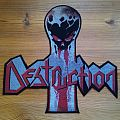Destruction back patch