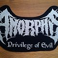 Amorphis back patch