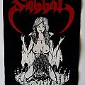 Sabbat back patch