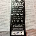 Desaster - Other Collectable - Bus Ticket - 25 Years of total DESASTER