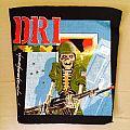 D.R.I. - Patch - dri backpatch