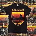 Sorcerer 1989 demo T-shirt Doom Metal Band