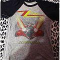 "ZZ TOP ""eliminator"" shirt"