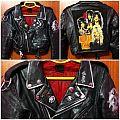 My sleaze-punk leather jacket
