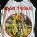"""Iron Maiden """"Iron Maiden"""" Baseball shirt"""