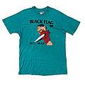 Late 80s black flag my war tee