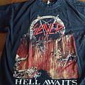 Slayer - Hell Awaits bootleg shirt