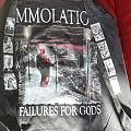 SOLD Immolation Failure for Gods Longsleeves European Tour Shirt 1999