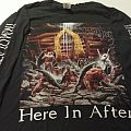 SOLD Rare Immolation Here in After 1996 European Tour shirt LS