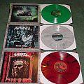 Fantastic reissues from century media records in beautiful colored vinyl  Tape / Vinyl / CD / Recording etc