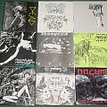 "death metal and black metal 7""s from the 90s"