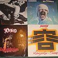 Dio - Tape / Vinyl / CD / Recording etc - Scorpians,Dio,Accept vinyl