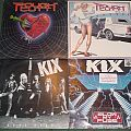 Kix - Tape / Vinyl / CD / Recording etc - Rough Cutt and Kix vinyl