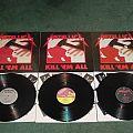 Metallica - Tape / Vinyl / CD / Recording etc - Metallica Kill 'Em All 3 different vinyl versions