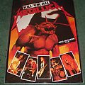 Metallica - Other Collectable - Metallica Hell on Earth Tour poster original 1984 in frame