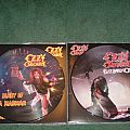 Ozzy Osbourne - Tape / Vinyl / CD / Recording etc - Ozzy Osbourne diary of a madman and blizzard of ozz recent picture disc...