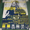 Deicide - Other Collectable - Deicide concert poster from 1995 i believe