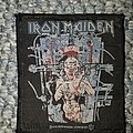 Iron Maiden - Patch - Iron Maiden - The X Factor patch