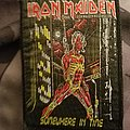 Iron maiden somewhere in time black border vintage patch