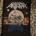 Anthrax persistence of time vintage patch