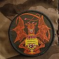 Dio sacred heart vintage circle patch
