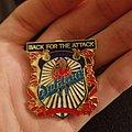 Dokken back for the attack vintage pin