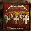 Metallica master of puppets vintage patch