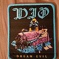 Dio Dream Evil bootleg blue border patch