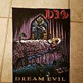 Dio Dream Evil vintage backpatch