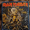 Iron Maiden - live after death blue border patch