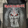 Iron Maiden - Patch - Iron maiden eddie candle patch