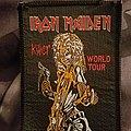 Iron maiden killer world tour patch