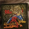 Iron maiden number of the beast vintage patch