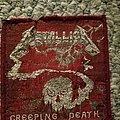 Metallica creeping death vintage patch