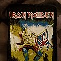 Iron maiden the trooper printed patch