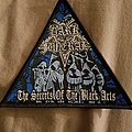Dark funeral the secrets of the black arts pyramid patch
