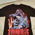 Rob Zombie 2013 tour shirt