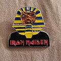 Iron Maiden - Pin / Badge - Iron maiden powerslave pin 1984