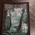 Cradle of filth dusk and her embrace official woven patch
