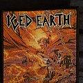 Iced earth dark saga woven patch