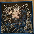 Emperor in the nightside eclipse woven Greek bootleg patch