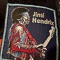 Jimi hendrix vintage light blue border patch