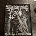 Cradle of filth the principle of evil made flesh woven official patch