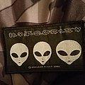 Hypocrisy alien logo patch