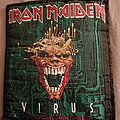 Iron Maiden - Patch - Iron maiden virus patch