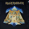 Iron Maiden - Patch - Iron maiden powerslave official back patch